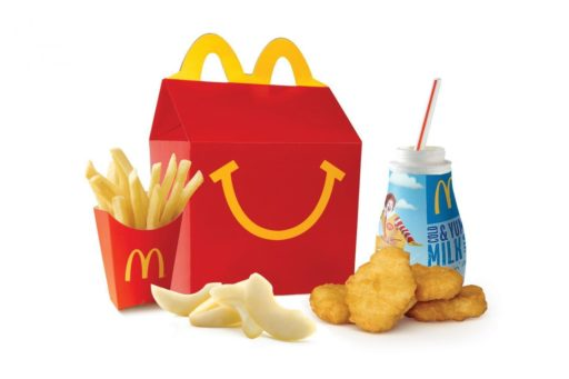 McDonald's lanzará «cajita feliz» saludable