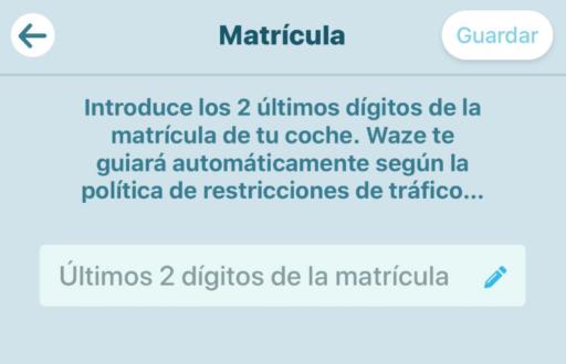 Pico y placa: Waze te permite ver por donde ir al poner los últimos dígitos de tu placa